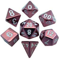Metallic Dice: Pink (Solid Metall)