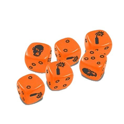 Zombicide: Dice (orange)