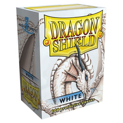Dragon Shield Sleeves - Standard White (100 ct. in box)