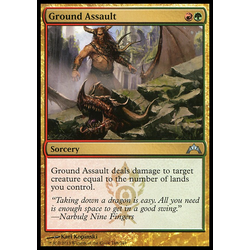 Magic löskort: Gatecrash: Ground Assault (Foil)