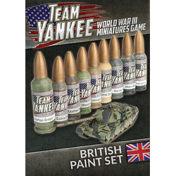 British Paint Set (Team Yankee)