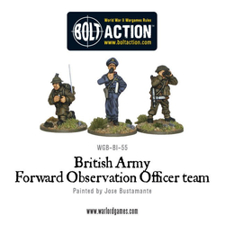 British Army Forward Observation Officer Team