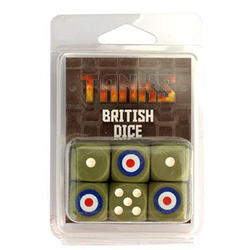 TANKS: British Dice Set (6)
