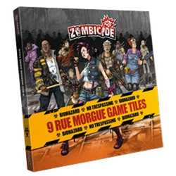 Zombicide: Rue Morgue Game Tiles (9)