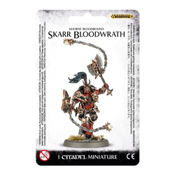 Khorne Bloodbound Skarr Bloodwrath