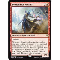 Magic löskort: War of the Spark: Dreadhorde Arcanist