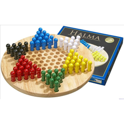 Kinaschack/Chinese checkers, large