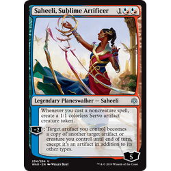 Magic löskort: War of the Spark: Saheeli, Sublime Artificer