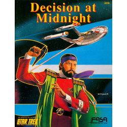 Star Trek RPG: Decision at Midnight (1986)