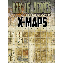 Lock 'n Load Tactical: Day of Heroes - X-Maps