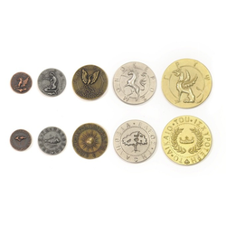 Metal Coins Mythological Creatures (50 st()