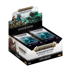 Warhammer Age of Sigmar: Champions - Wave 2 Onslaught Booster Display (24)