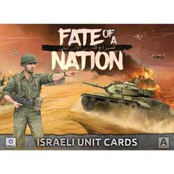 Fate of a Nation: Israeli Unit Cards