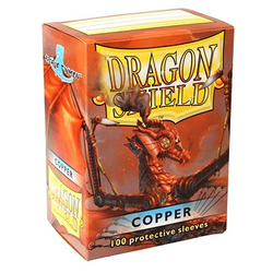 Dragon Shield Sleeves - Standard Copper (100 ct. in box)