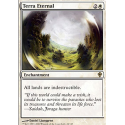 Magic löskort: Worldwake: Terra Eternal
