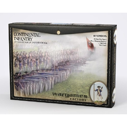 American War of Independence Continental Infantry