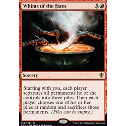 Magic löskort: Commander 2016: Whims of the Fates