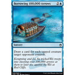 Magic löskort: Masters 25: Borrowing 100,000 Arrows