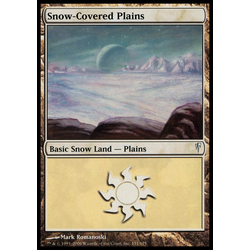 Magic löskort: Coldsnap: Snow-Covered Plains
