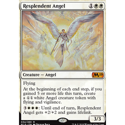 Magic löskort: Core Set 2019: Resplendent Angel