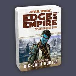 Star Wars: Edge of the Empire: Specialization Deck - Big Game Hunter