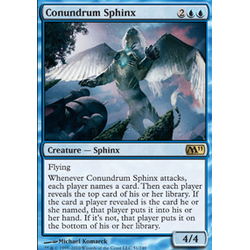 Magic löskort: Core Set 2011 (M11): Conundrum Sphinx