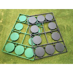 Renedra 40mm Round Bases (10)