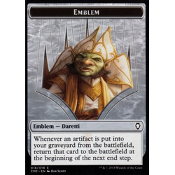 Magic löskort: Commander Anthology 2018: Emblem Daretti