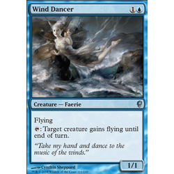 Magic löskort: Conspiracy: Wind Dancer