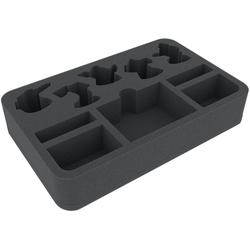 Feldherr 40mm half-size foam tray for Shadespire Khorne Bloodbound