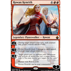 Magic löskort: Battlebond: Rowan Kenrith