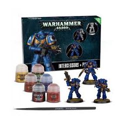 Warhammer 40K Paint Set (+ Intercessors)