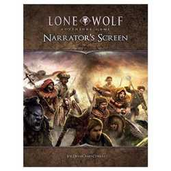 Lone Wolf Adventure Game: Narrator's Screen