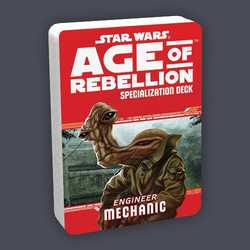 Star Wars: Age of Rebellion: Specialization Deck - Engineer Mechanic