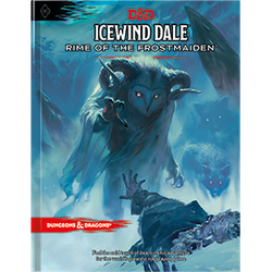 D&D 5.0: Icewind Dale - Rime of the Frostmaiden (standard cover)