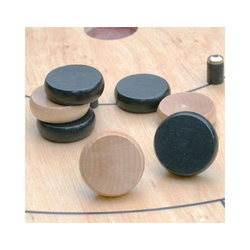 Mayday Crokinole Discs Natural (14st)