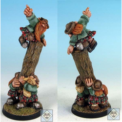 Fantasy Football Halflings - Scotling Treeman Caber Thrower Team (metall) (Impact)