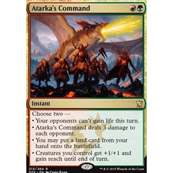 Magic löskort: Dragons of Tarkir: Atarka's Command