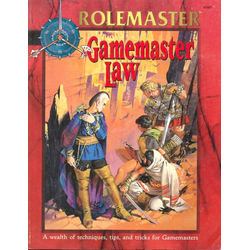 Rolemaster: Gamemaster Law