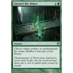 Magic löskort: Born of the Gods: Unravel the Aether (foil)