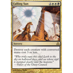 Magic löskort: Guildpact: Culling Sun