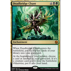 Magic löskort: Guild Kits: Deadbridge Chant