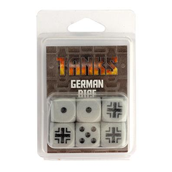 TANKS: German Dice Set (6)