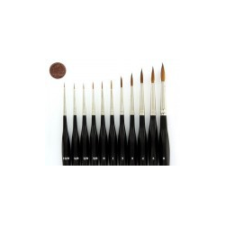 Kolinsky Sable Brush Size 2/0