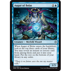 Magic löskort: War of the Spark: Augur of Bolas