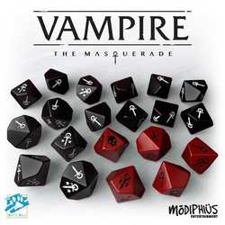 Vampire: The Masquerade (5th ed) - Dice Set
