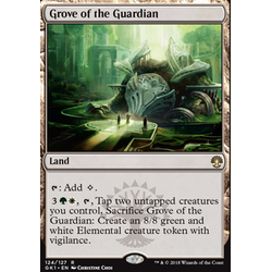 Magic löskort: Guild Kits: Grove of the Guardian