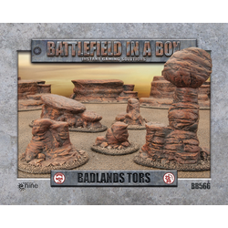 Battlefield in a Box: Badlands Tors