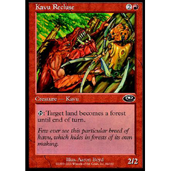 Magic löskort: Planeshift: Kavu Recluse (Foil)