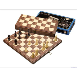 Schack/Chess Set, medium, field 42 mm